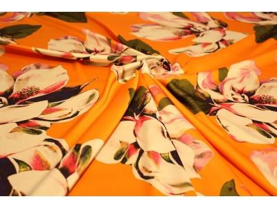 Piel de angel flor naranja