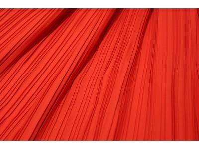 Plisado rojo