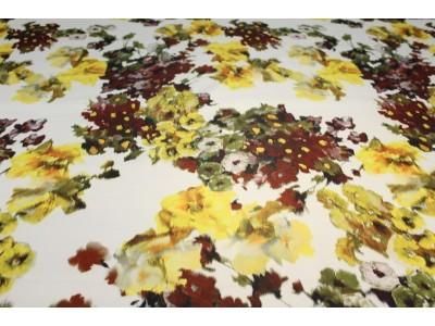 Tafeta flor amarillo
