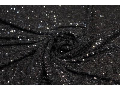 Lentejuelas negro